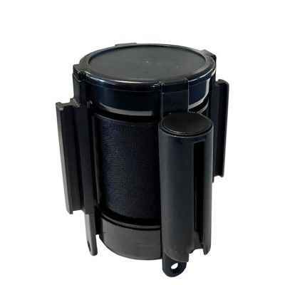 Afspærringsbånd til væg i sort | 3 meter