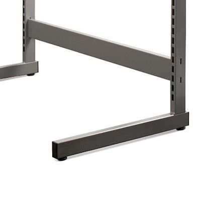 Afstandsstykke grå pulverlakeret metallic lak - 90 cmder bruges 2 afstandsstykker pr. gondol