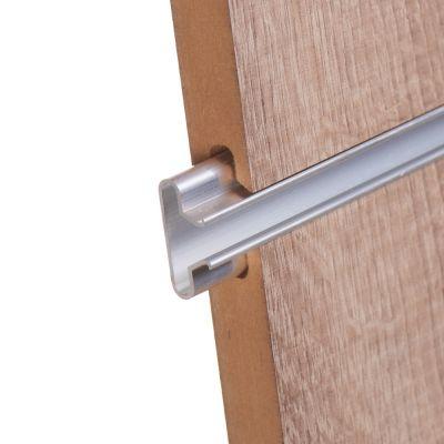 Aluminiums indsats for rillepanel 240 cm