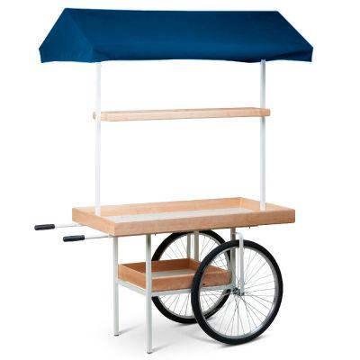 Vogn med hjul til marked - messe & event