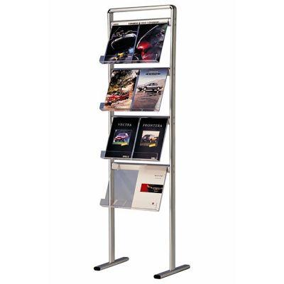 Brochurestander A4 1-sidet | 8 x A4