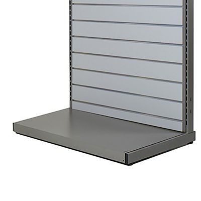 Bundpodie - grå metallic lak RAL 9007 - B90 cm