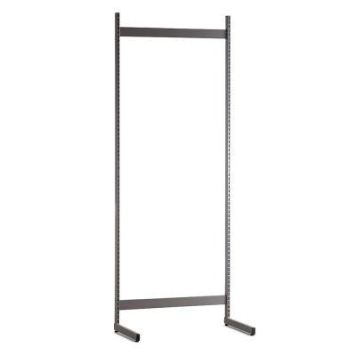 Gondol i grå - H240xB90 cmbestår af afstandsstykker, inventarsøjler og L-ben