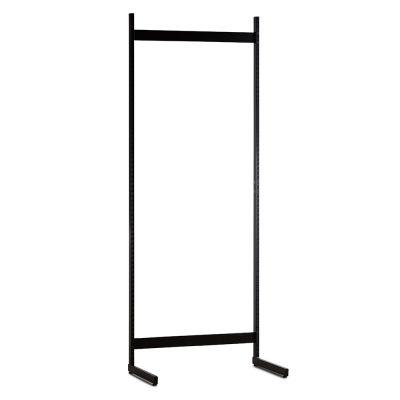 Gondol i sort - H240xB90 cmbestår af afstandsstykker, inventarsøjler og L-ben