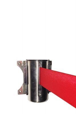 Køleder - Afspærringsbånd til væg Rødt