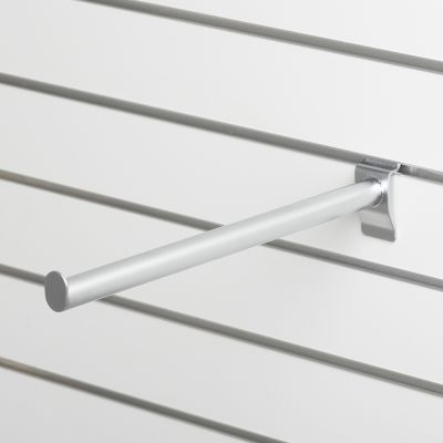 Fronthæng for panel - mat chrom overflade - L40 cm