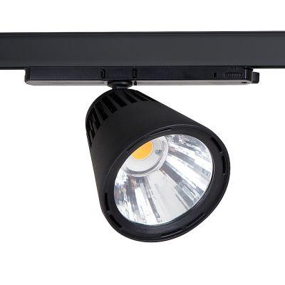 LED spot Winner 29 watt i sortgrundbelysning med 40 gr spredning