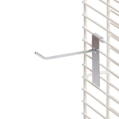 Varekrog i zink og rund fortil - enkelt for trådnet L10 cm - trådtykkelse Ø6 mm