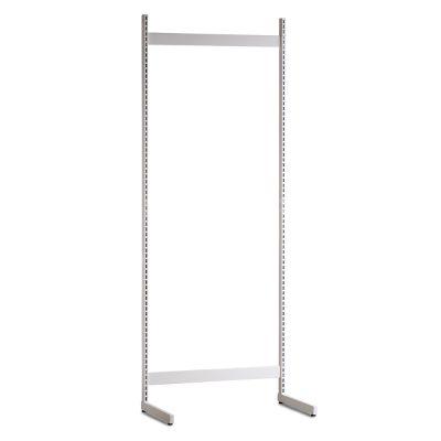 Gondol i hvid - H240xB90 cmbestår af afstandsstykker, inventarsøjler og L-ben
