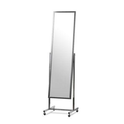Gulvspejl - Spejl med hjul150x50 cm |