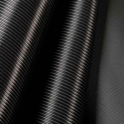 Riflet gummi til hylde L90xD40 med akryl forkant