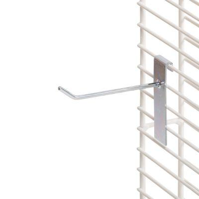 Varekrog i zink og rund fortil - enkelt for trådnet L30 cm - trådtykkelse Ø6 mm