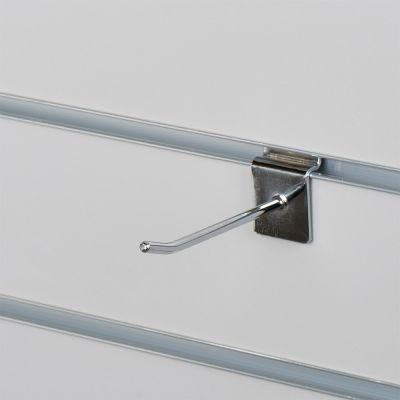 Varekrog enkel for rillepanel - chrommål L10 cm - tykkelse Ø0,48 mm