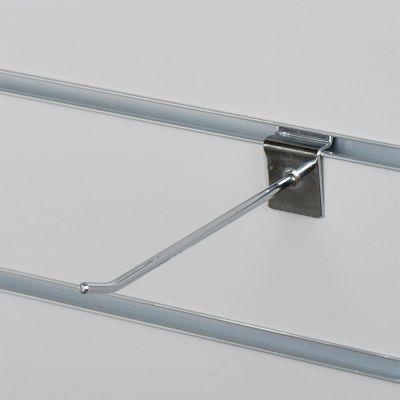 Varekrog enkel for rillepanel - chrommål L15 cm - tykkelse Ø0,48 mm