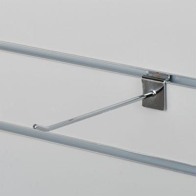 Varekrog enkel for rillepanel - chrommål L20 cm - tykkelse Ø0,48 mm