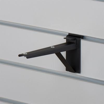 Hyldeknægt for rillepanel i sort - 21 cm
