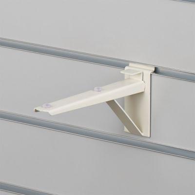 Hyldeknægt for rillepanel i hvid - 21 cm