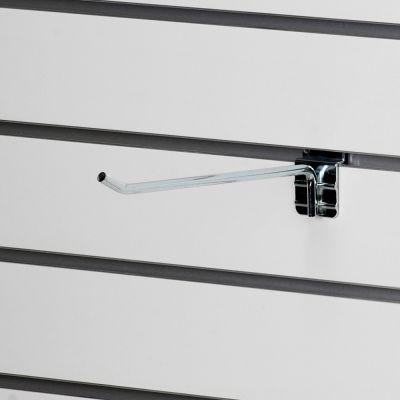Varekrog enkelt til panel - ekstra kraftig - zink overflademål L25 cm - trådtykkelse Ø8 mm