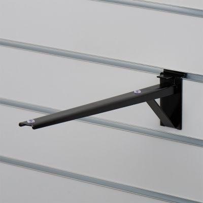 Hyldeknægt for rillepanel i sort - 35 cm