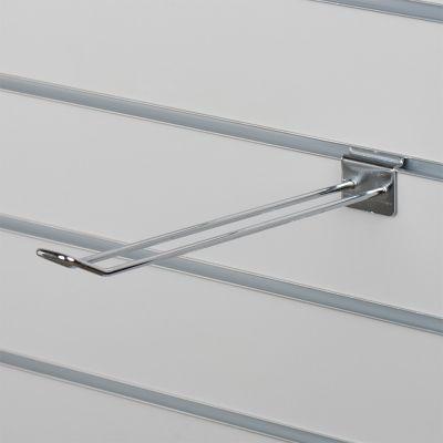 Varekrog dobbelt til panel - chrom overflademål L30 cm - trådtykkelse 0,5 cm