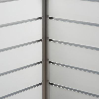 Aluminium hjørneliste til indvendig hjørnemål 2,0x2,0 cm og længde 240 cm