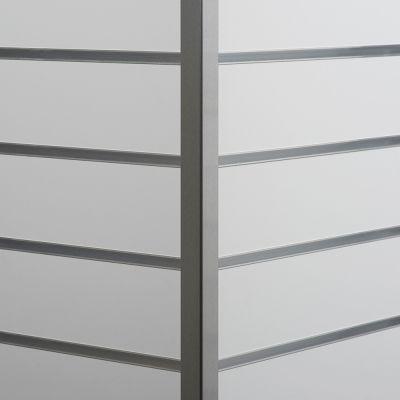 Aluminium hjørneliste til udvendig hjørnemål 2,5x2,5 cm og længde 240 cm