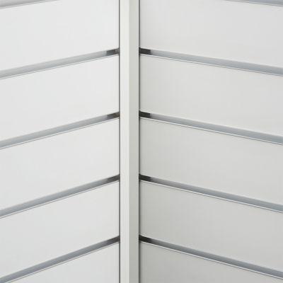Hvid hjørneliste til indvendig hjørnemål 2,0x2,0 cm og længde 240 cm