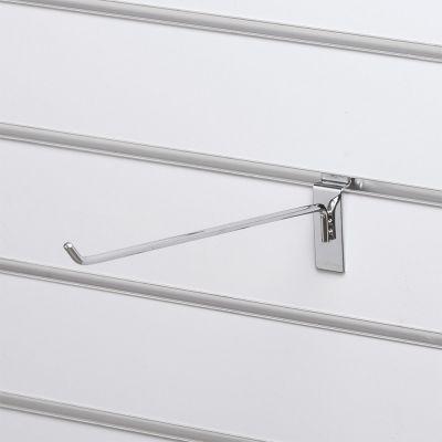 Varekrog - enkelt for rillepanel - overflade i chrommål L30 cm - trådtykkelse 6 mm