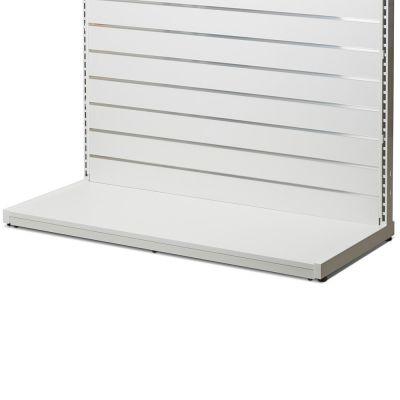 Bundplade lukket fortil - hvid melamin plade - B90 cm