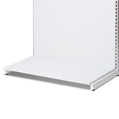 Bundhylde åben fortil - hvid melamin plade - B90 cm