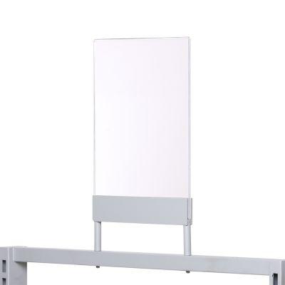 Skilteholder i akryl - A4 stående - 3 mm klar akryl
