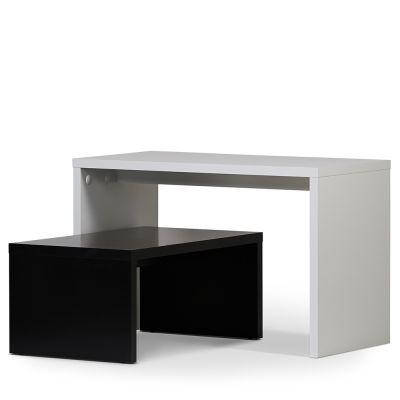 Oplægsborde - butiksborde hvid & sort |