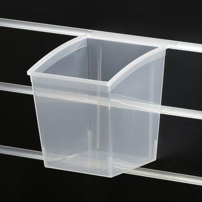 Plastkasse til rillepanel 16x14xH-18 cm