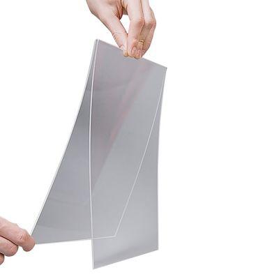 Skilteholder A4 stående til magnetholder2 mm klar akryl - passer til 1 stk. stående A4 papir