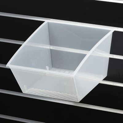 Plastik kasse til slatwall 30x28xH-18 cm