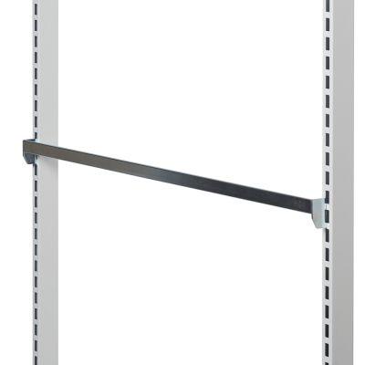 Spydskinne for varekroge - zink overflademål 90 cm - med enkeltkrogs indhægtning