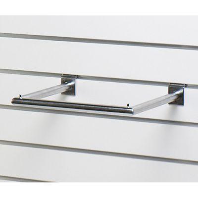 U-bøjlestang for panel - mat chrom overflademål B35xD28 cm