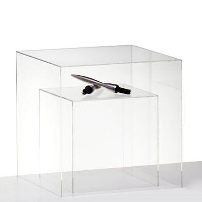 Udstillingskasser - bokse i klar akryl