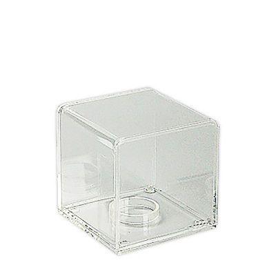 Motre i støbt plexiglas med løs plexi bundplademål H9xB9xD9 cm