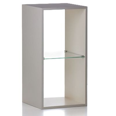 Udstillingspodie & salgspodie med glas-