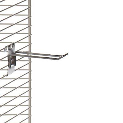 Varekrog i zink - dobbelt for trådnet L15 cm - trådtykkelse Ø4,8 mm