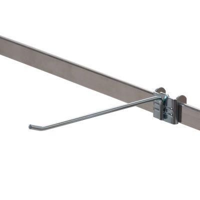 Varekrog enkel i forzinketmål L20 cm - trådtykkelse Ø5 mm - passer til 6 mm skinne