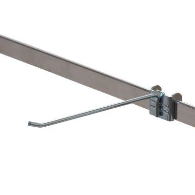 Varekrog enkel i forzinketmål L10 cm - trådtykkelse Ø5 mm - passer til 6 mm skinne