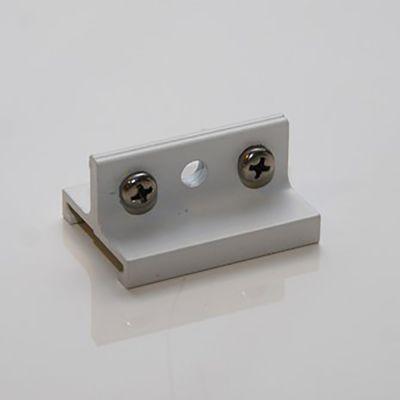Wirebeslag kort - til hvid skinne - til montering på 3-faset strømskinne