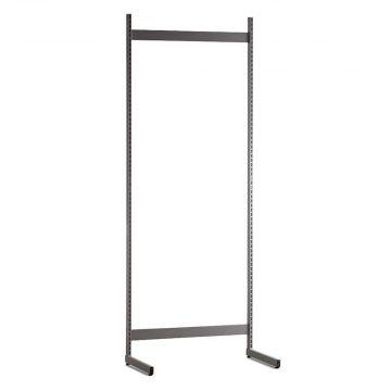 Gondol i grå - H240xB90 cm<br />består af afstandsstykker, inventarsøjler og L-ben
