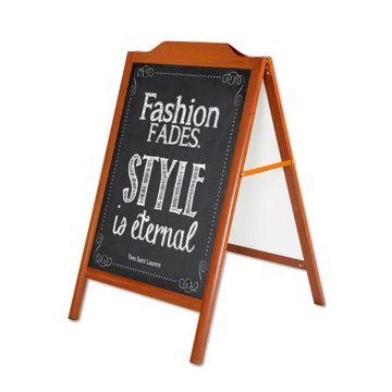 A-Skilt  Cafe-skilt med skrivetavle |