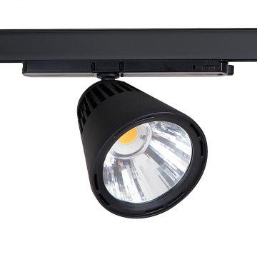 LED spot Winner 29 watt i sort<br />grundbelysning med 40 gr spredning