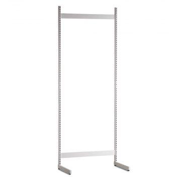 Gondol i hvid - H240xB90 cm<br />består af afstandsstykker, inventarsøjler og L-ben