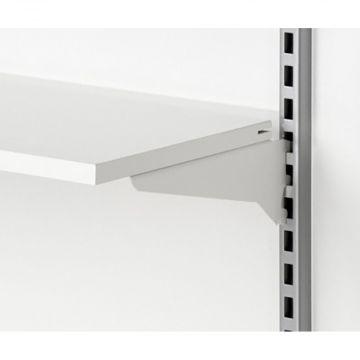 Hyldebærer for butiksgondol 30 cm | Hvid