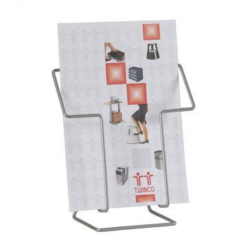 Katalogholder  til bord A4 højkant |